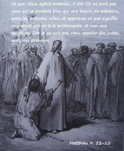 Matthieu 9.12-13