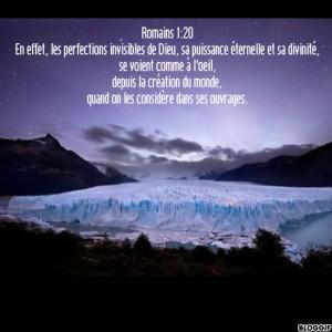 Romains 1.20